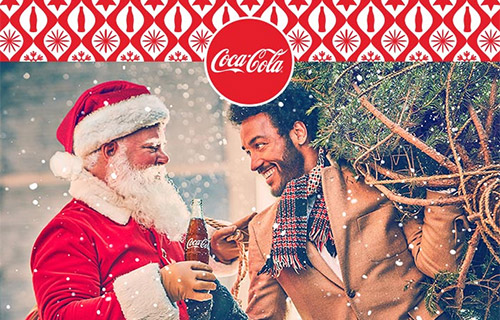 Coca-Cola Christmas Emailers