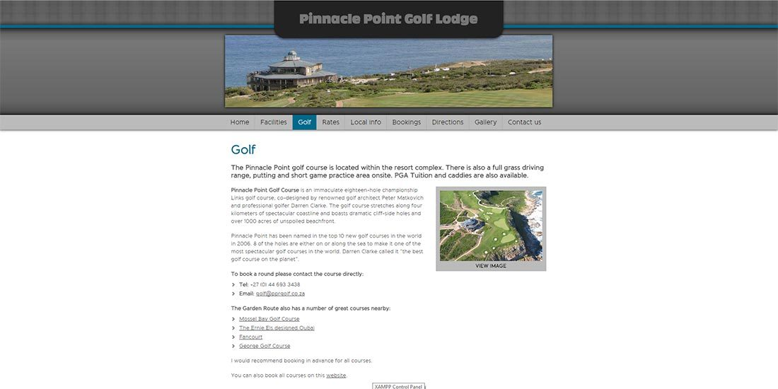 Pinnacle Point Golf Lodge | Image 306