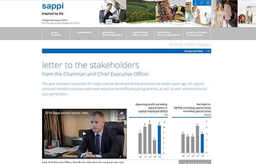 Sappi Integrated Report 2014